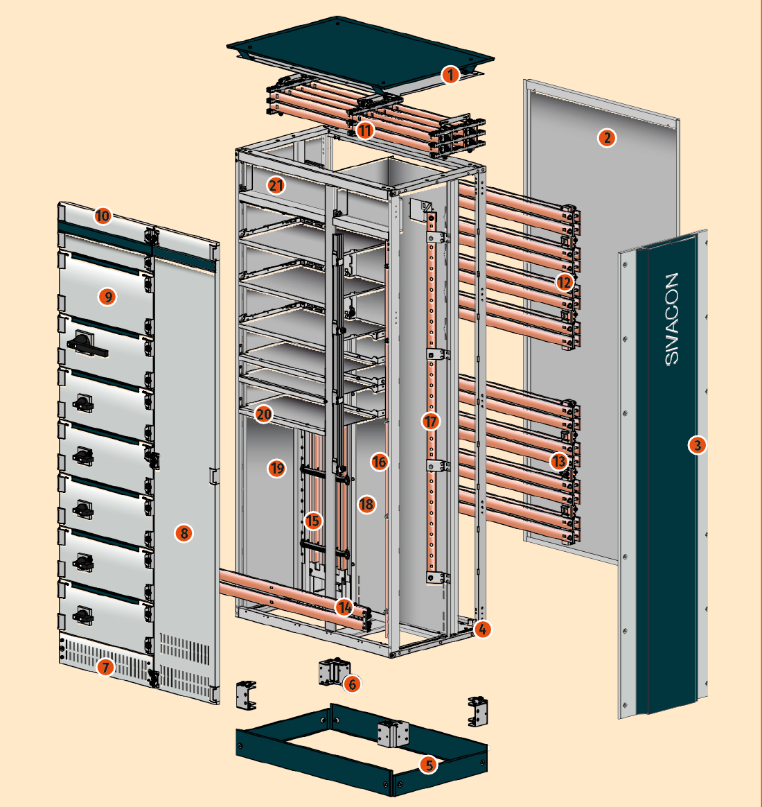 An Image Of The Logstrup Busbar assembly